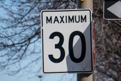 Les limites de vitesses seront réduites à Dorval