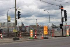 Rue Jean-Talon: l'intersection Pie-IX désormais fermée jusqu'en 2023