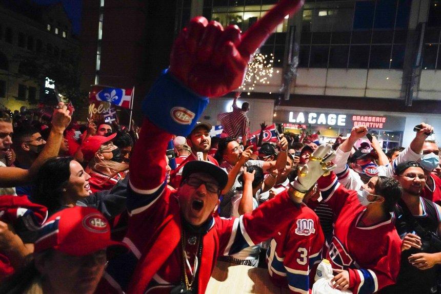 Les Canadiens en finales de la Coupe Stanley, Montréal célèbre entre joie et grabuge