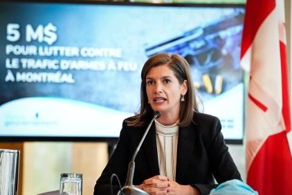Lutte au trafic d'armes: 5 M$ pour l'ELTA du SPVM