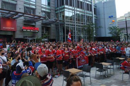 Séries éliminatoires: les partisans du Canadien refroidis par la défaite
