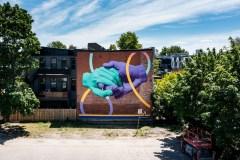 Le Plateau pourrait demander à Expedia de modifier une murale