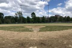 Le baseball: pas la priorité