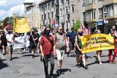 Manifestation à Montréal pour un «vrai contrôle des loyers»