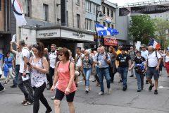 Nouvelle marche contre les mesures sanitaires à Montréal