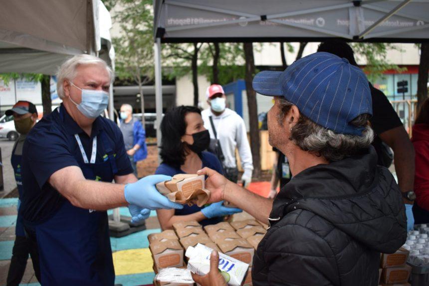 Plus de 3000 repas végétaliens pour des personnes dans le besoin