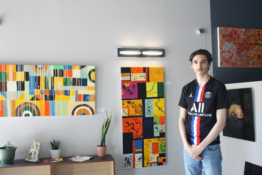 Une première exposition d'art Chez Smoothzi