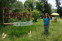 Biquette revient passer l'été au parc Maisonneuve