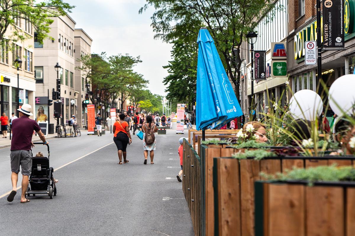 Une première opération vaccination sur rue piétonne à Montréal en fin de semaine