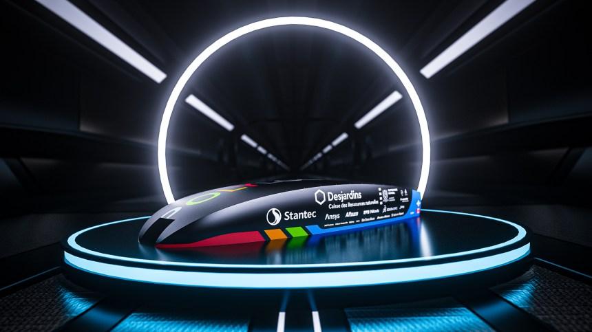 CLARK-1, la première capsule Hyperloop du Québec