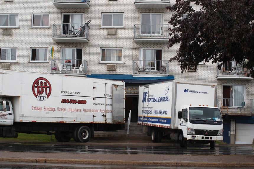 Déménagement: 97 ménages montréalais toujours sans logement