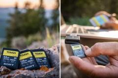 Cette carte SD ultrarésistante vous accompagne peu importe vos conditions de tournage