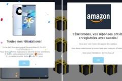 Amazon fait-il vraiment tirer des Huawei Mate 40 Pro 5G pour son anniversaire?