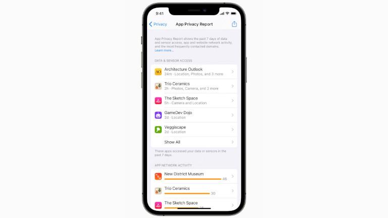 Autorisations applications iPhone mise à jour iOS 15