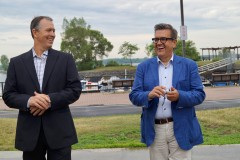 Un ancien joueur des Expos se présente avec Denis Coderre à Lachine