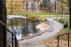 Réaménagement du pôle famille du parc La Fontaine: résiliation du contrat