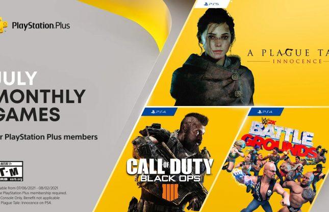 PlayStation Plus : les nouveautés de juillet