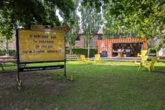 Lecture et médiation dans le parc Sainte-Cunégonde