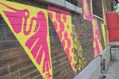 Nouveau mural sur la 6e à Lachine