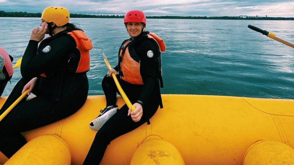 Tenter le rafting… à Montréal!