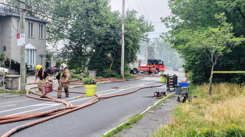Un octogénaire perd la vie dans un incendie à Rivière-des-Prairies