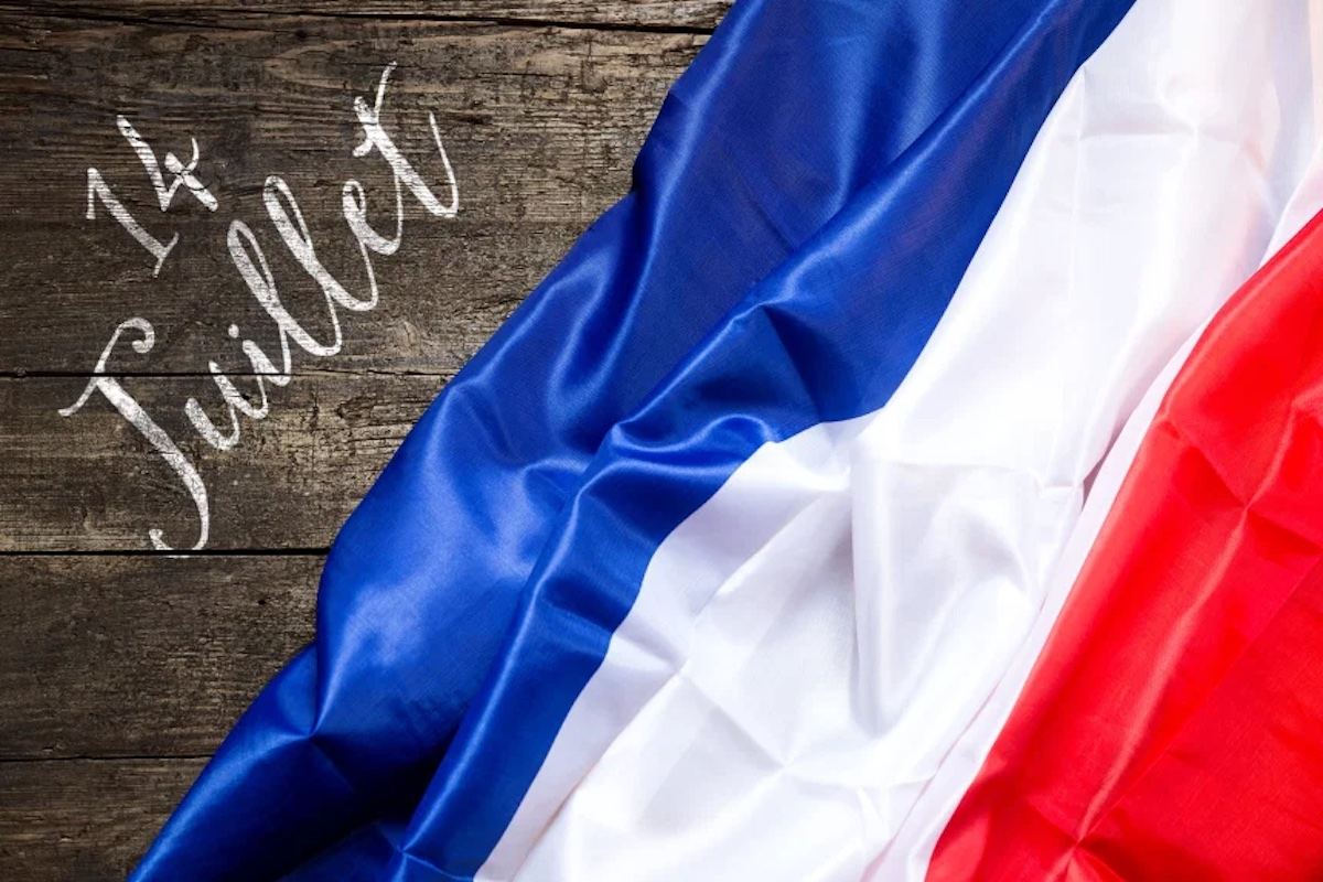 Le 14 juillet représente le jour de fête nationale en France.