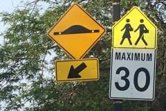 Mesures pour la sécurité routière sur le boulevard Lalande