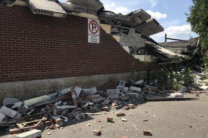 Montréal-Nord : un bâtiment abandonné depuis 40 ans sera démoli