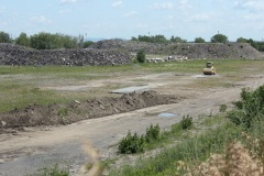 Des travaux sont en cours sur le site de Ray-Mont Logistiques