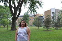 Gisèle Petiquay, militante et fière d'être Autochtone