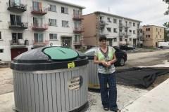 Montréal-Nord : des citoyens ont ras-le-bol des poubelles qui débordent