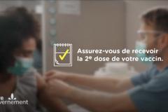 Une nouvelle campagne de communication pour inciter les Québécois à la deuxième dose