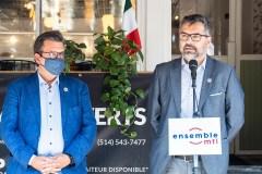 Gilles Grondin annonce sa candidature à la mairie