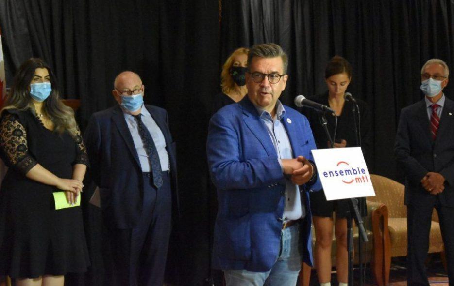 Denis Coderre chef d'Ensemble Montréal