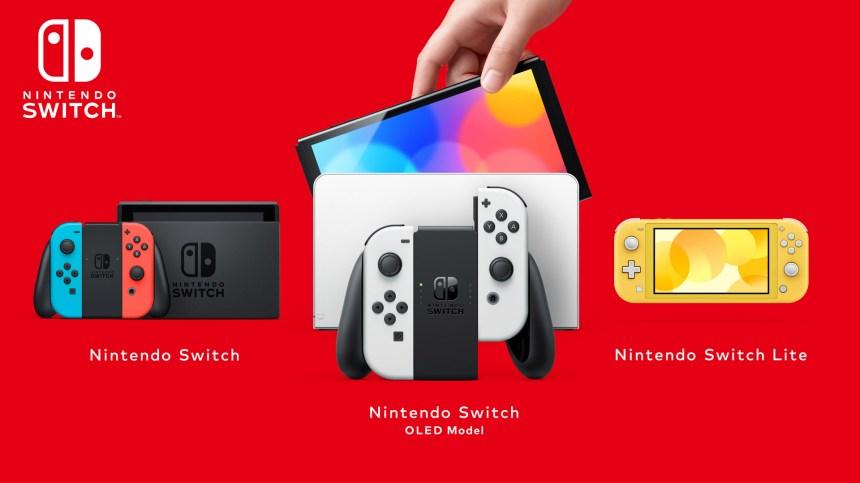 Nintendo présente la console Switch OLED, offerte dès le 8 octobre