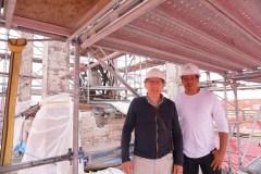 Dans les coulisses du chantier patrimonial de Saint-Esprit-de-Rosemont