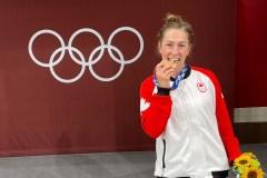 Une judoka d'Hochelaga-Maisonneuve remporte le bronze aux JO