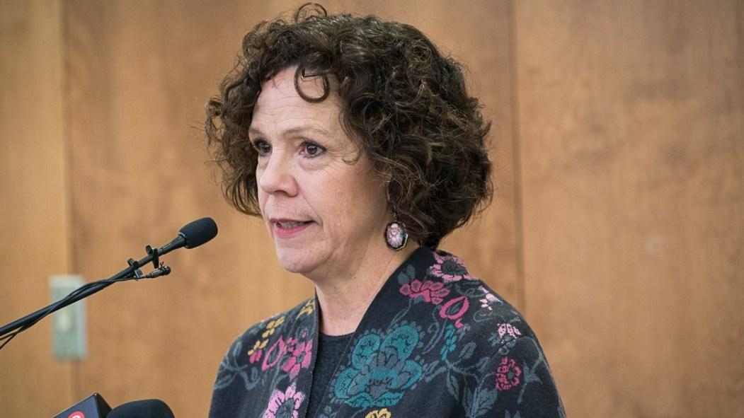 Sue Montgomery, mairesse d'arrondissement de Côte-des-Neiges-Notre-Dame-de-Grâce