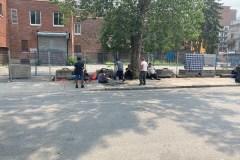 Une nouvelle clôture au coin Milton/Parc inquiète la communauté