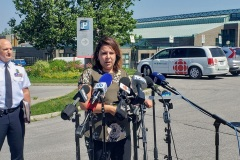 Triple homicide à RDP: la SQ en renfort à Montréal