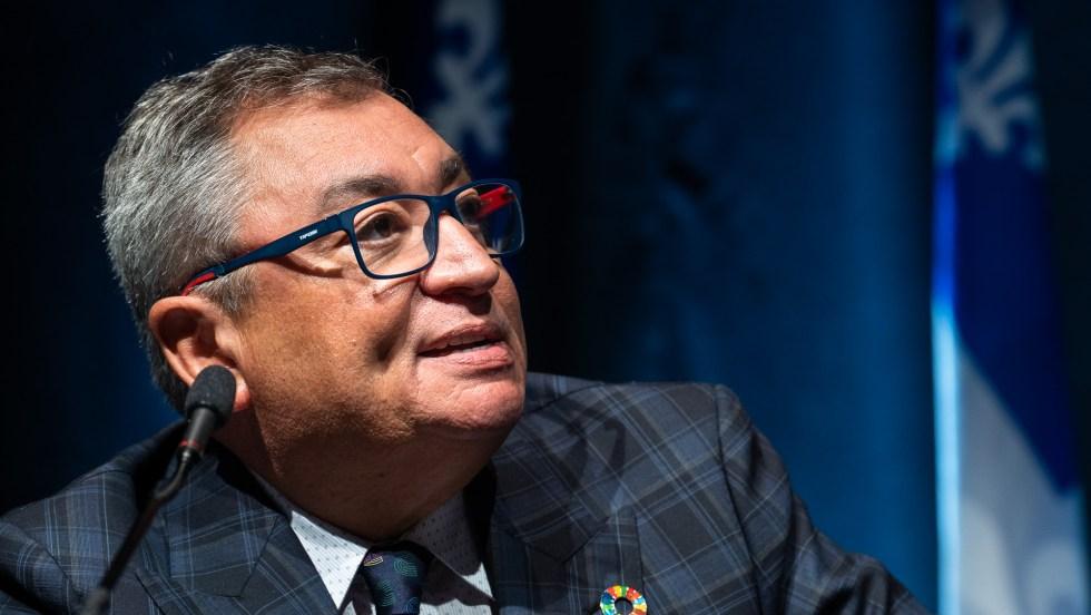 Le directeur national de santé publique, Horacio Arruda