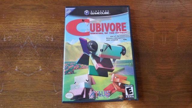 Cubivore GameCube Rare