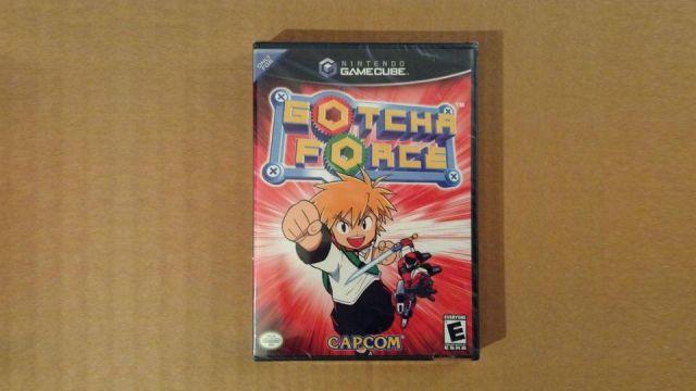 Gotcha Force GameCube Rare
