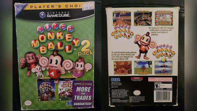 Super Monkey Ball GameCube