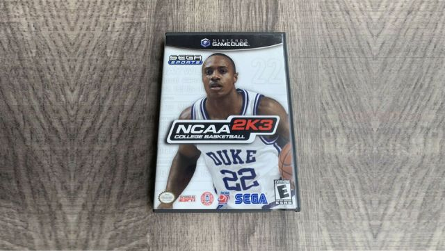 NCAA GameCube Rare