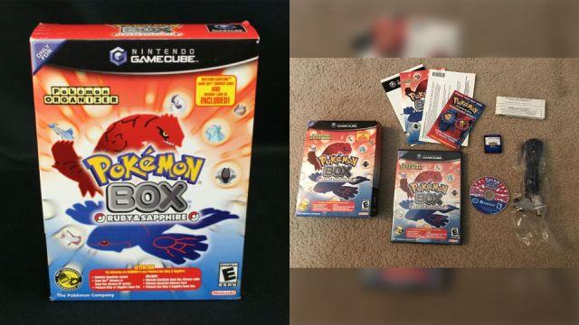 Pokémon Box GameCube