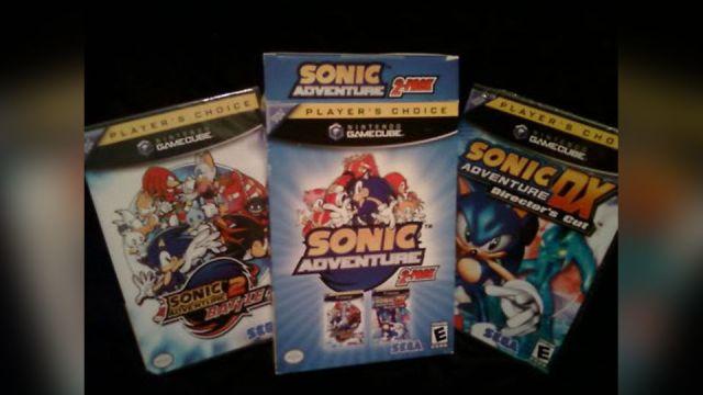 Sonic Adventure GameCube