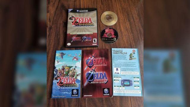 Zelda GameCube Rare