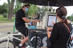 Un café mobile voit le jour dans Mercier