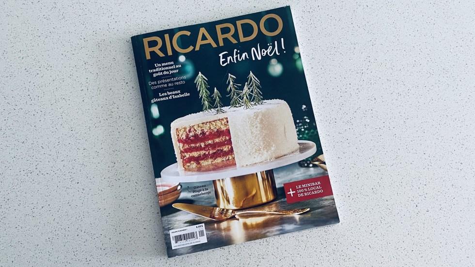 Un exemplaire du magazine Ricardo, qui deviendra la propriété de Sobeys/IGA